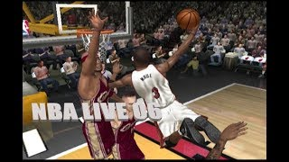 Playing NBA LIVE 06 in 2019 (XBOX)