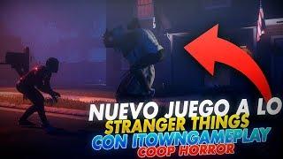 NUEVO JUEGO DE TERROR STRANGER THINGS CON MI NUEVA BANDA ( TOWN Y COSI ) | THE BLACKOUT CLUB ESTRENO