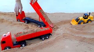 construindo viaduto de areia