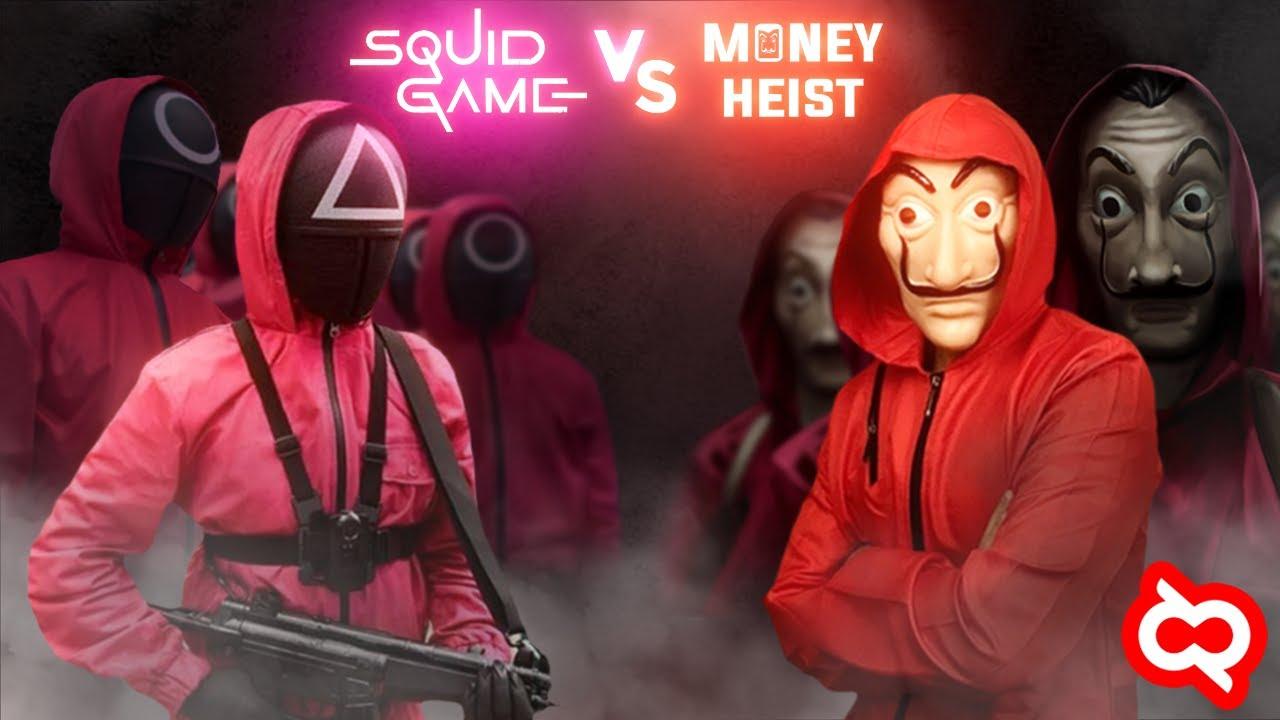 Download Money Heist VS Squid Game : Persaingan Ketat Rating #1 Serial Paling Populer Sepanjang Masa!