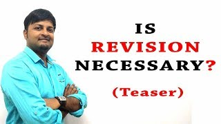 Is Revision Necessary ??   Teaser   Genique Education
