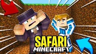 Minecraft SAFARI - TO BYŁA PUŁAPKA SZALEŃCA! #3