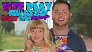 The Bean Boozled Challenge Part One   Wee Play   Face Reveal!