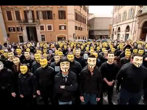 Anonymous Worldwide   United as One - Divided by Zero