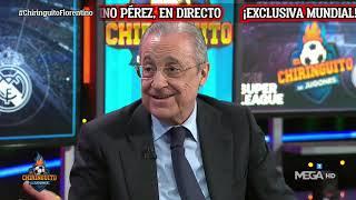 🚨 EXCLUSIVA MUNDIAL | FLORENTINO PÉREZ y la SUPERLIGA, en El Chiringuito