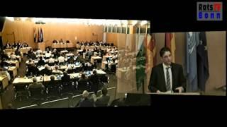 WCCB-Rede Dr. Michael Faber (Linksfraktion Bonn) 6. Mai 2013 Ratssondersitzung