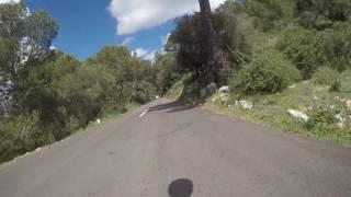 Descent from Randa, Majorca 2017