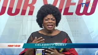 How I Got Pregnant At Age 14 - Actress Ada Ameh Talks About Her Stuggle