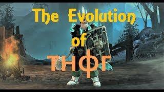 The Evolution of тнфг + 1h Stats [Drakensang Online]