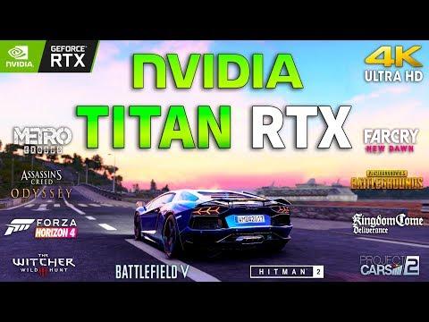 NVIDIA TITAN RTX Test in 10 Games 4K (i9 9900k)