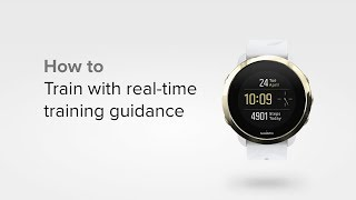 Suunto 3 Fitness - How to train with real-time training guidance