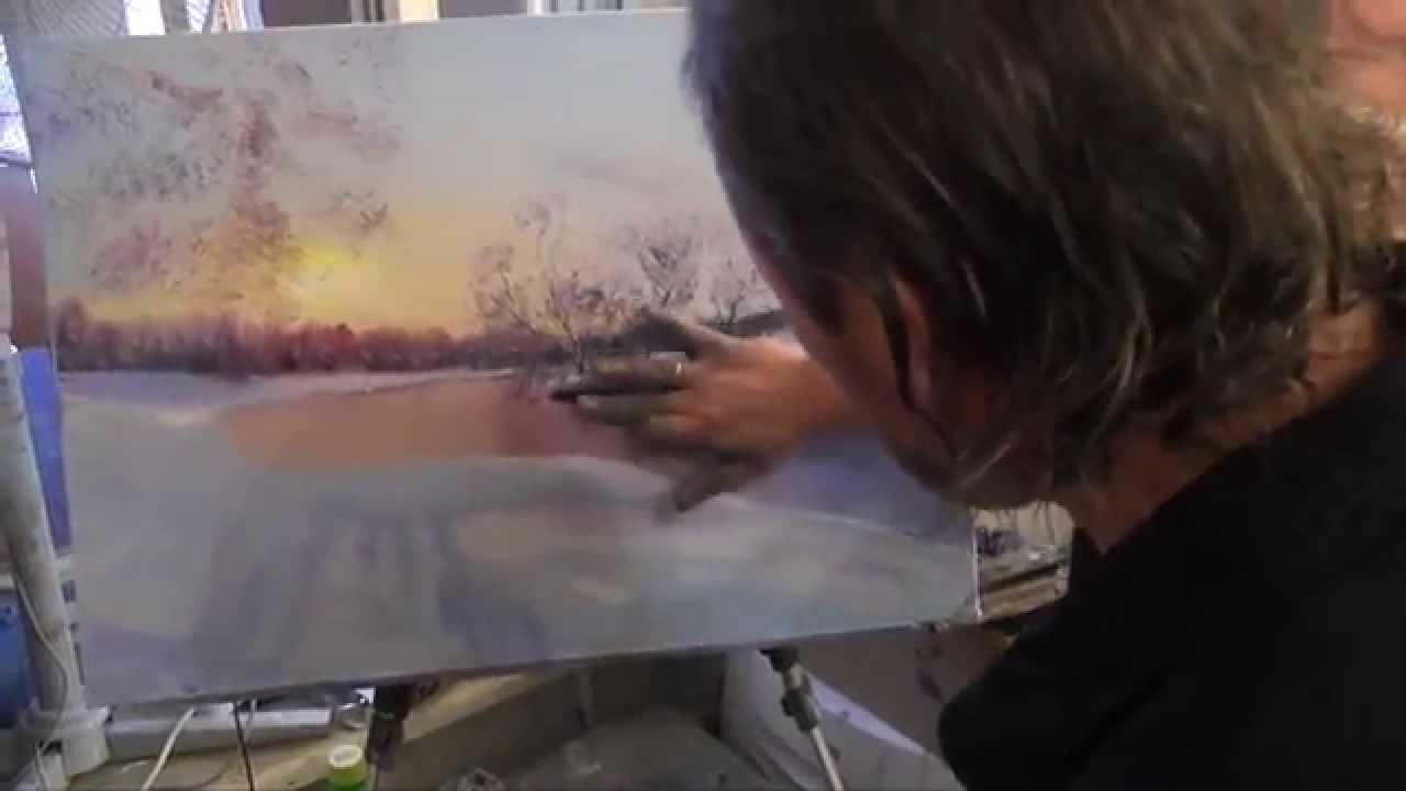 Картинки зима для рисования