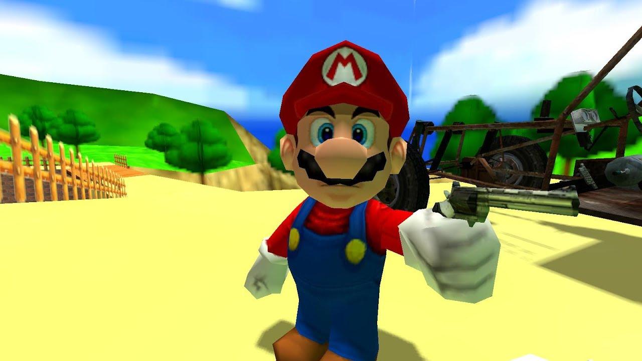 Mario vs  Luigi [Gmod]