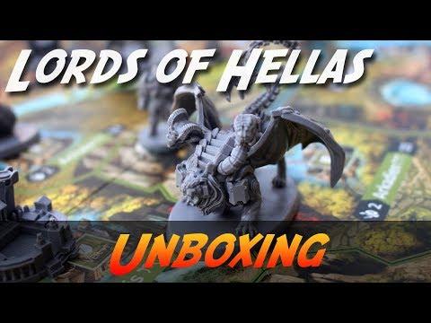 Lords of Hellas - Brettspiel Unboxing