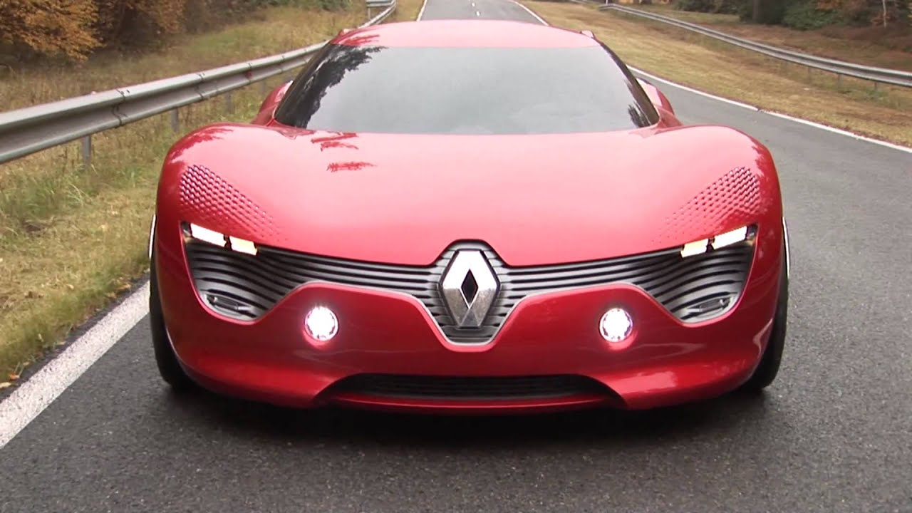 Make Your Own Car >> Renault DeZir Launch - What Car? - YouTube