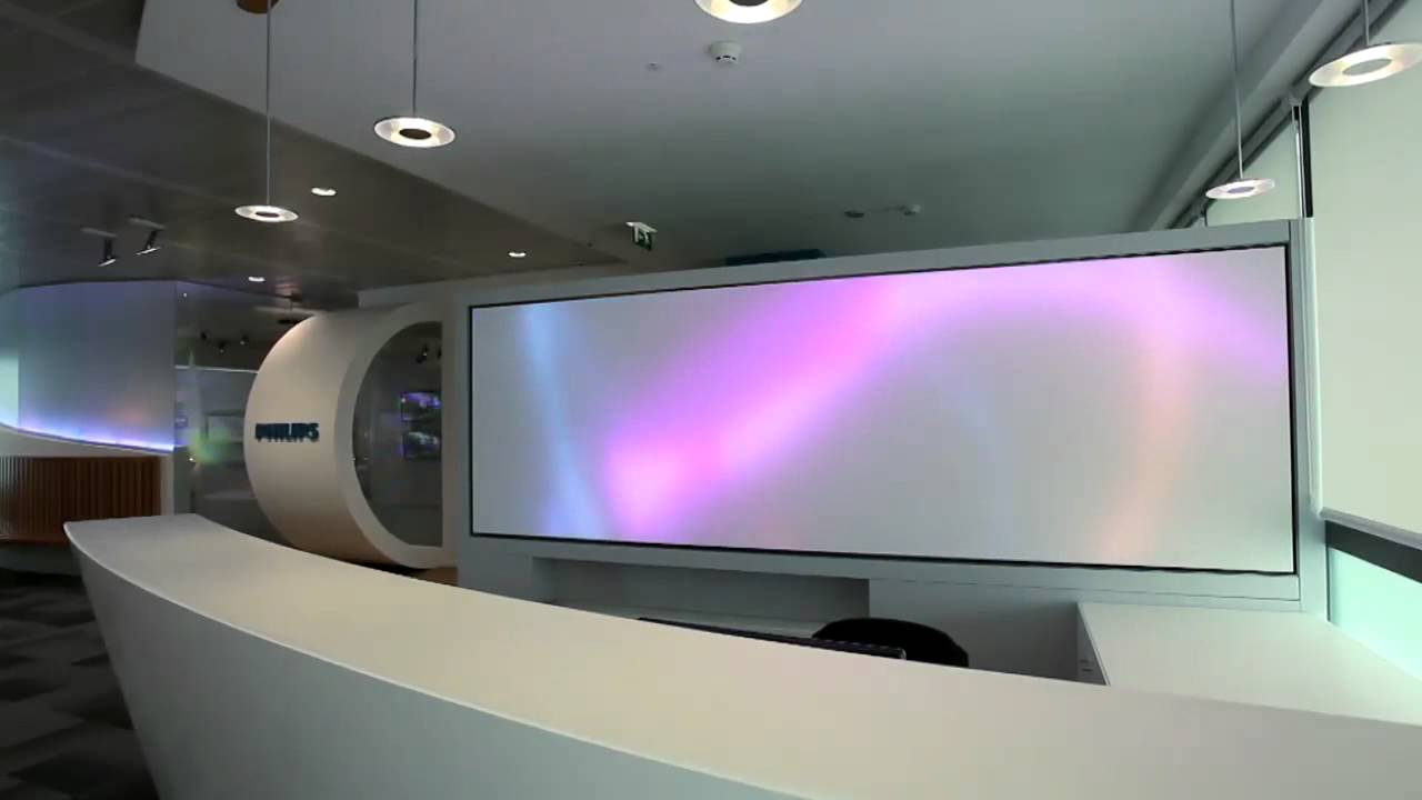 Philips Luminous Textile Panels Hd Demo From Philips