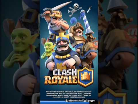 Clash royale haciendo records