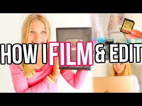 How I Film & Edit My YouTube Videos | How to: Make Thumbnail,  Get More Views & Subscribers!