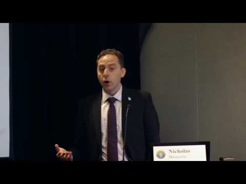 Nicholas Brozovic - Innovations in Agricultural Groundwater Management