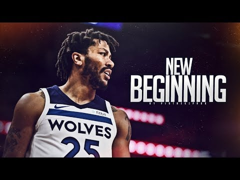 Derrick Rose - 'NEW BEGINNING' (2018 Timberwolves Highlights) ᴴᴰ