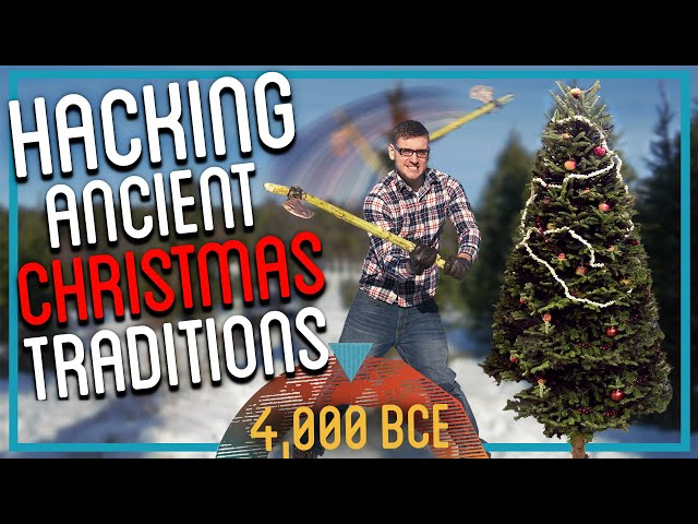 Chopping Down and Decorating My Christmas Tree from Scratch