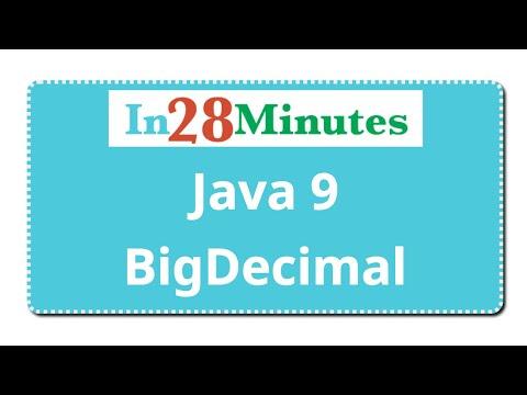 Java BigDecimal Tutorial -  1