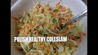 Polish Healthy Coleslaw / Salatka z kapusty  Episode#30