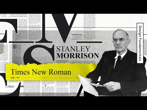 Times New Roman— Graphic Design History 101