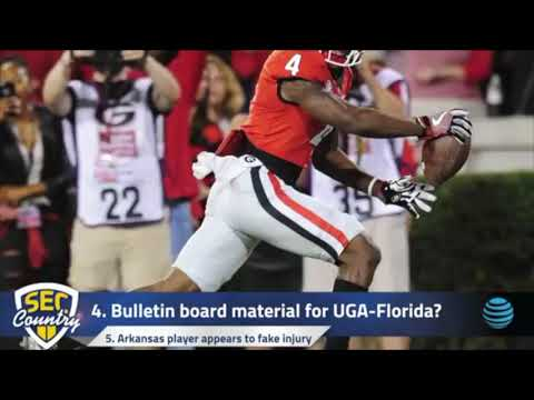 Florida players provide bulletin board material for UGA, Jake Fromm