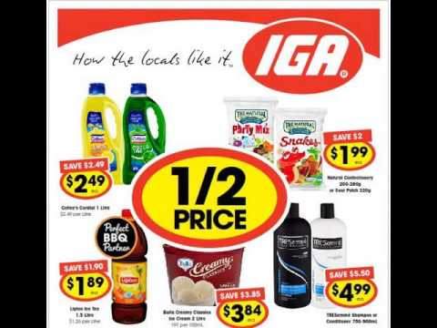 IGA Freshwater Place Week's Special Offers