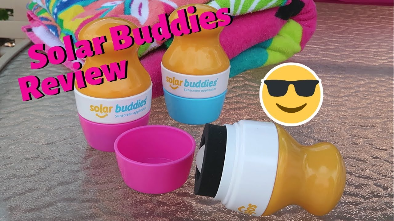 Image result for Solar Buddies - Friendly Sunscreen Applicators