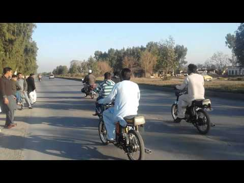 Attock bike race craze