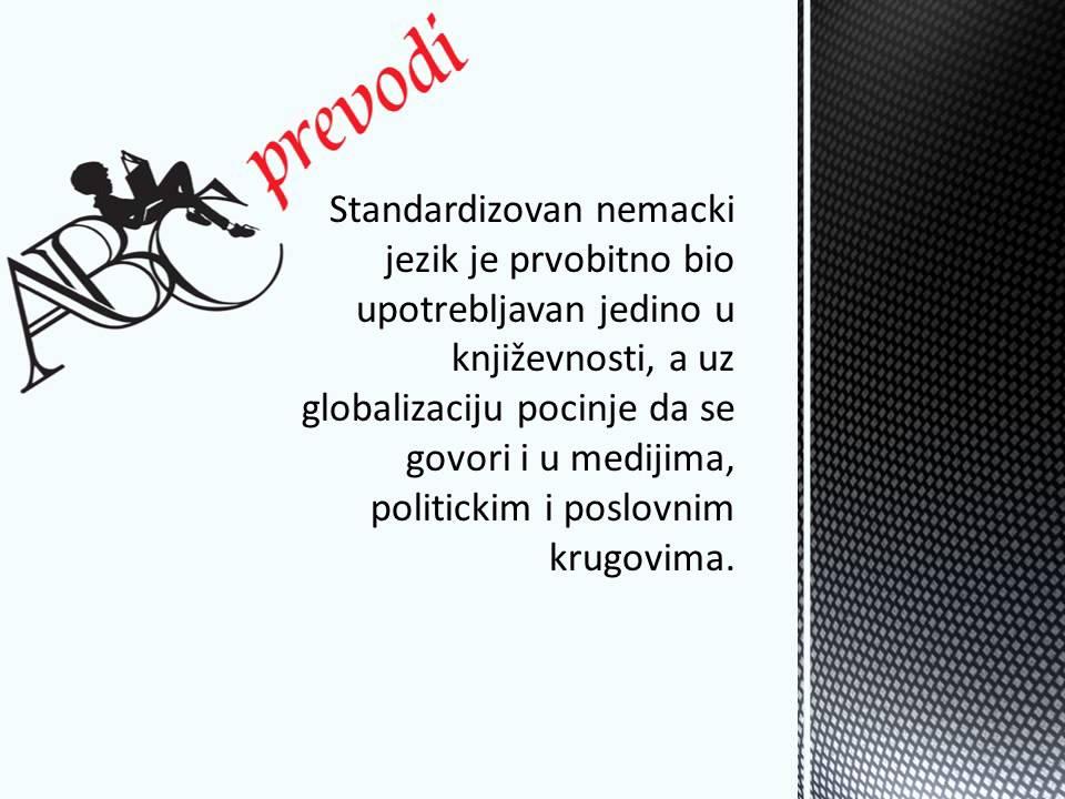 Abc Prevodi Prevodilac I Sudski Tumac Za Nemacki Jezik