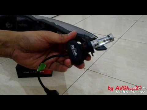 Cara Pasang Lampu Led Mobil H4 Lampu Utama Youtube