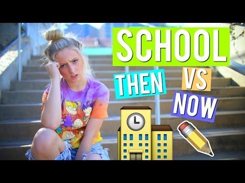 THEN VS NOW: SCHOOL. | Kalista Elaine