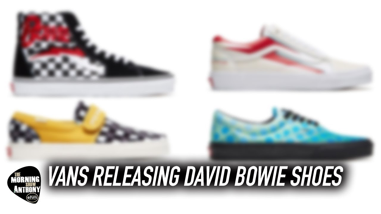 45062bab Vans Releasing David Bowie Shoes - YouTube