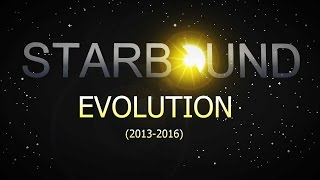 Evolution of Starbound (All official trailers, 2013-2016)