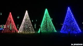Christmas Light Show 2013 - Carol of the Bells (Nashville, TN)