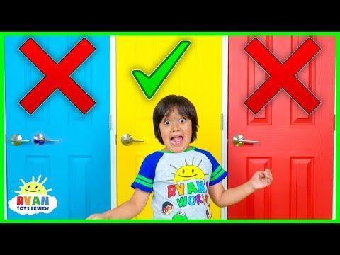 Смотреть Don't Choose the Wong Door Challenge!! онлайн