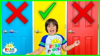 Don'T Choose The Wong Door Challenge!!