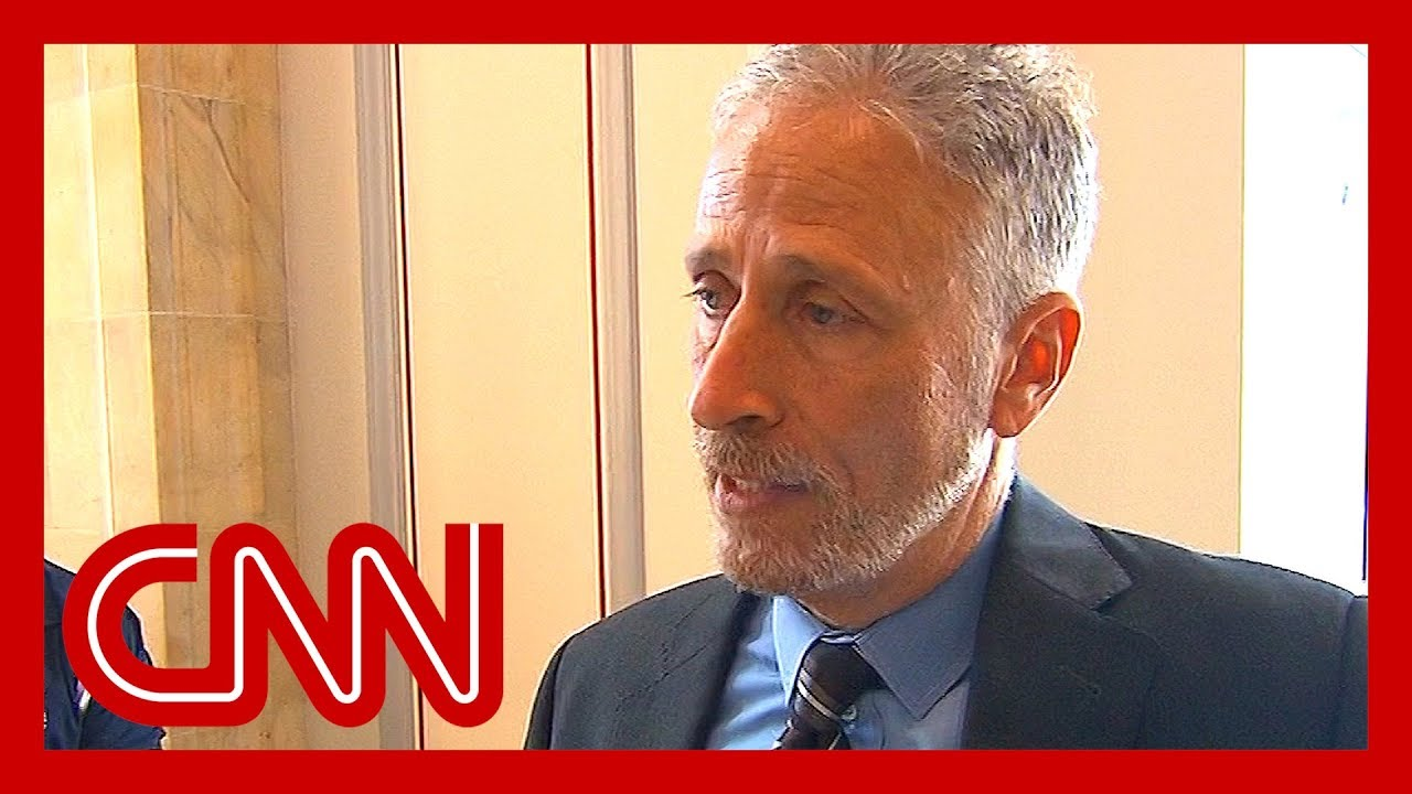 CNN:Jon Stewart explains why he's frustrated with Congress