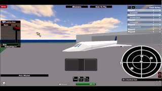roblox crazy concorde takeoff
