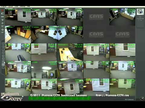View Multiple Servers on CMS PC Client - Alnet DVR/NVR Home Security Cameras