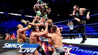 Breezango, Ryder & Dillinger vs. Corbin, Ziggler, Rawley & Colon: SmackDown LIVE, April 3, 2018