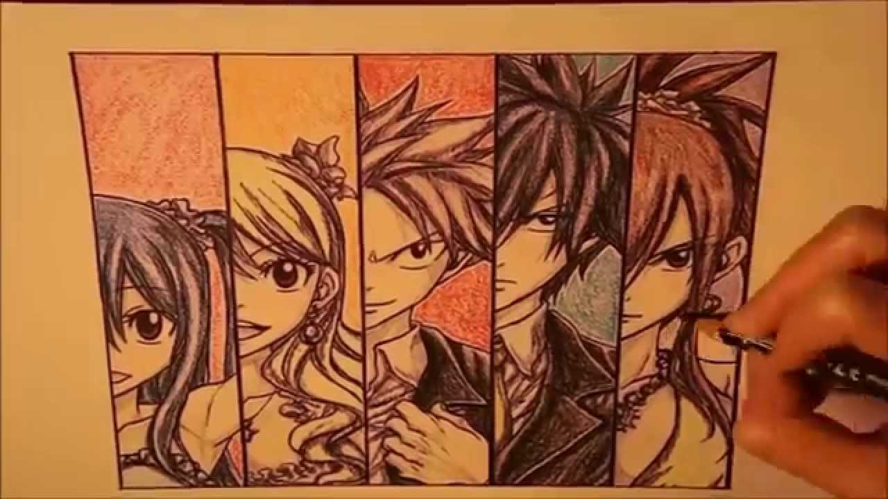 Fairy tail team natsu having sex 2