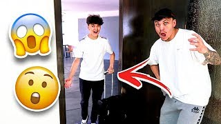 Little Brother FLEW ACROSS WORLD to Surprise Older Brother!