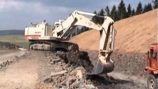 o k rh30 f terex 33 07 fa kohl bau autobahn a1 rengen germany 2004 1