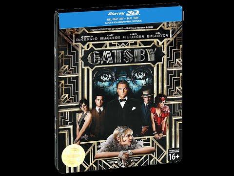 """Распаковка Blu-ray """"Великий Гэтсби"""" железный бокс коллекционное издание / The Great Gatsby futurepak"""