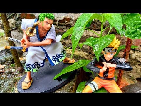 Action Figure Naruto, Sasuke Naruto, Kakashi Hatake, Gaara And Zorro
