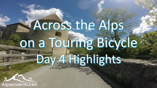 Across the Alps on a Touring Bicycle - Day 4 Highlights (Fuessen to Lake Garda)